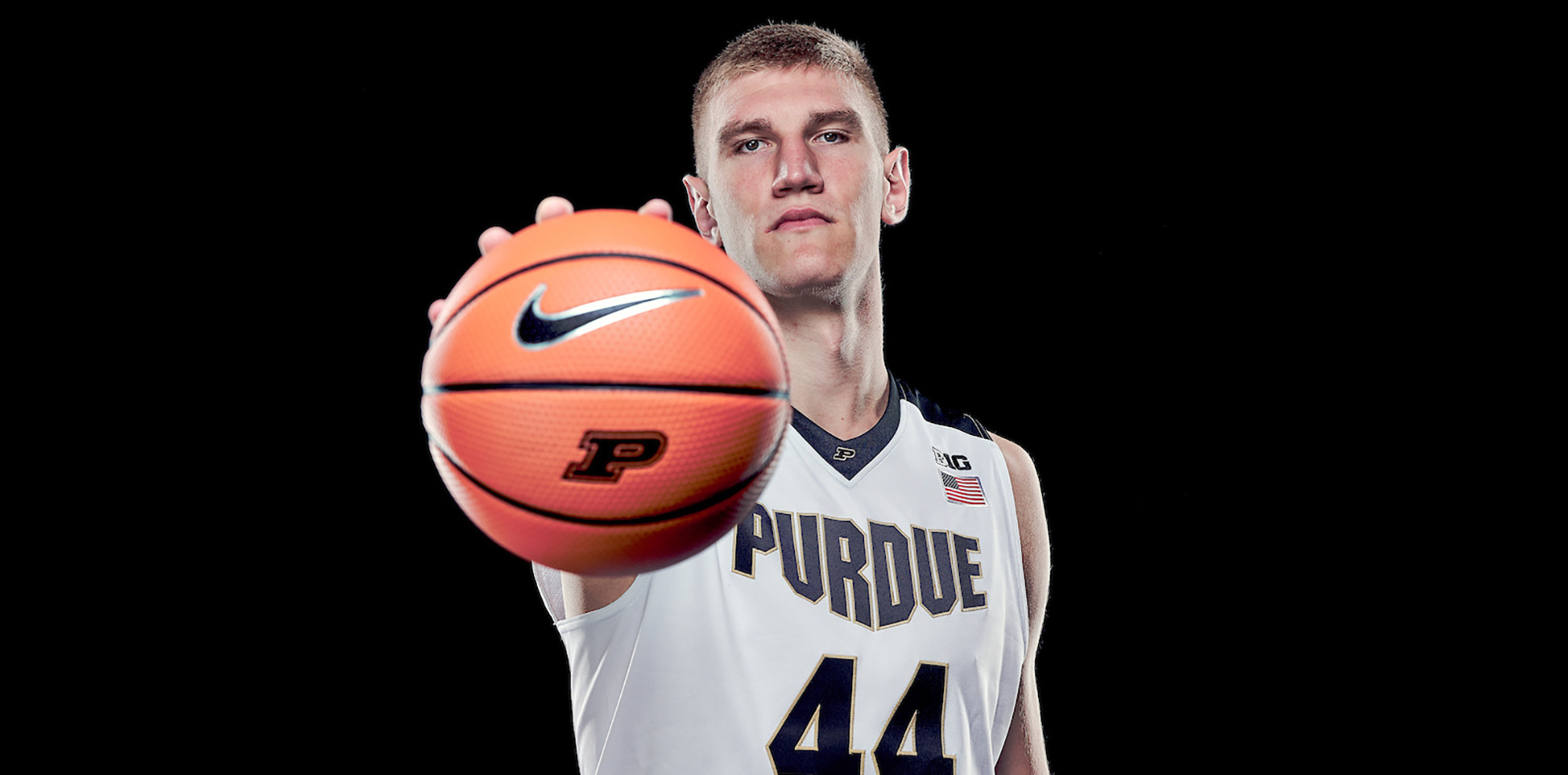 8b88c2aae3c4 Getting to Know  Isaac Haas - Purdue University Athletics