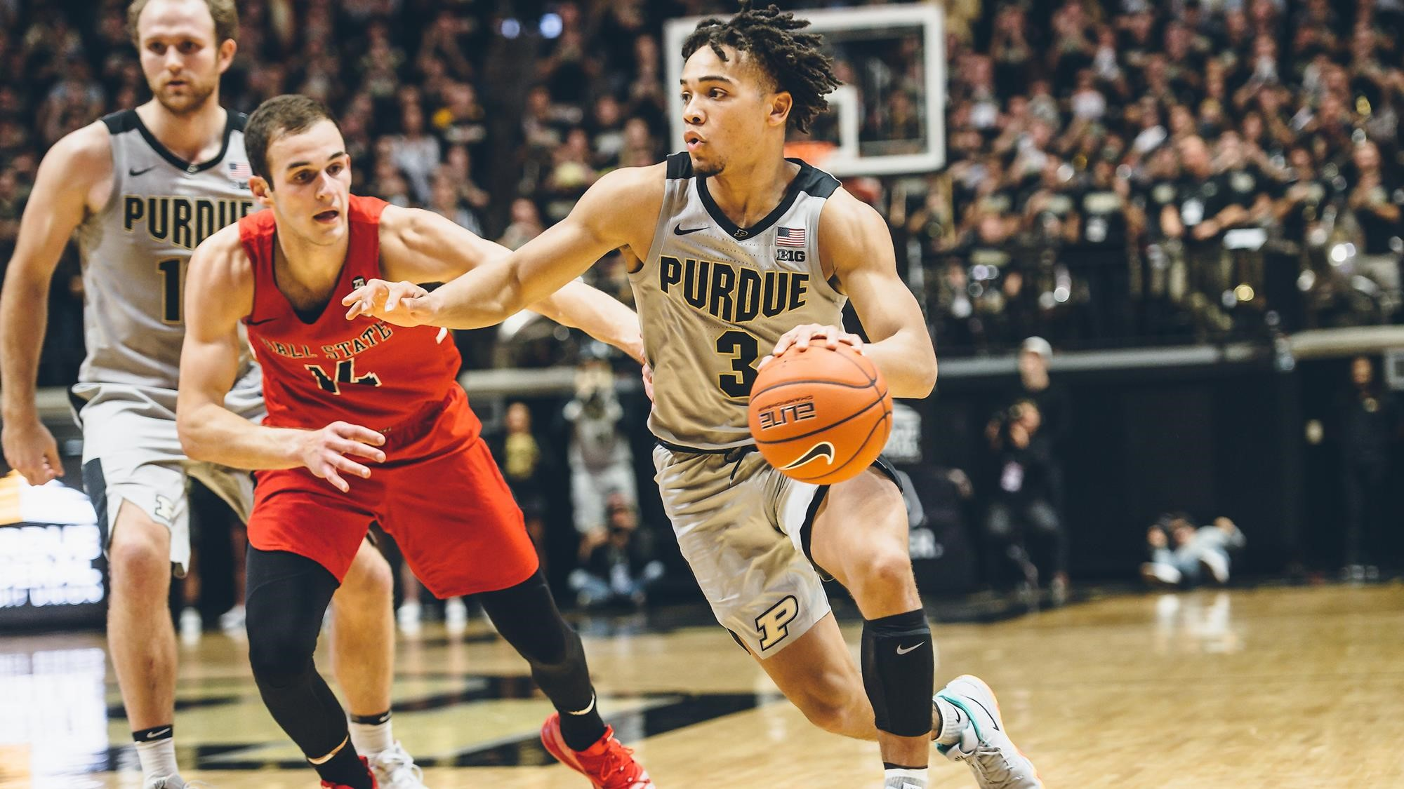 9a57c634585 Edwards Named Second-Team USBWA All-American - Purdue University ...