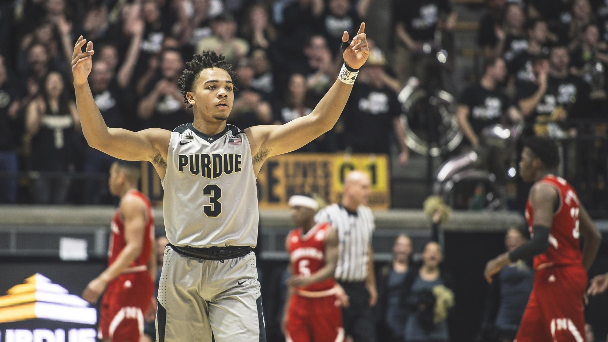 Edwards Tabbed Blue Ribbon Player Of The Year Purdue University